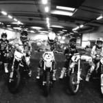 Indoor Motocross at Breum Track, Denmark