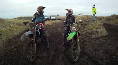 Motocross elitetræning 6.-8. Januar 2012 Nordjylland
