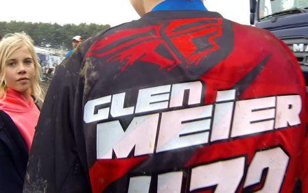 Glen Meier Motocross Kører fra Danmark