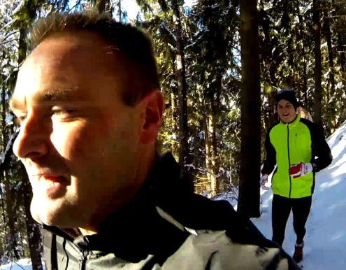 Mikkel Caprani December 2013 Højdetræning i Østrig
