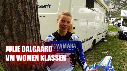 Julie Dalgaard VM Vomen Motocross 2014 Italien