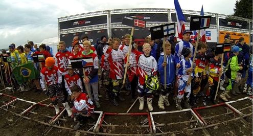 Motocross Junior VM Belgien 2014